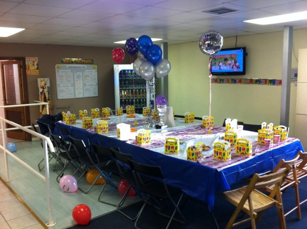 Indoor Soccer Birthday Party | Home Party Ideas