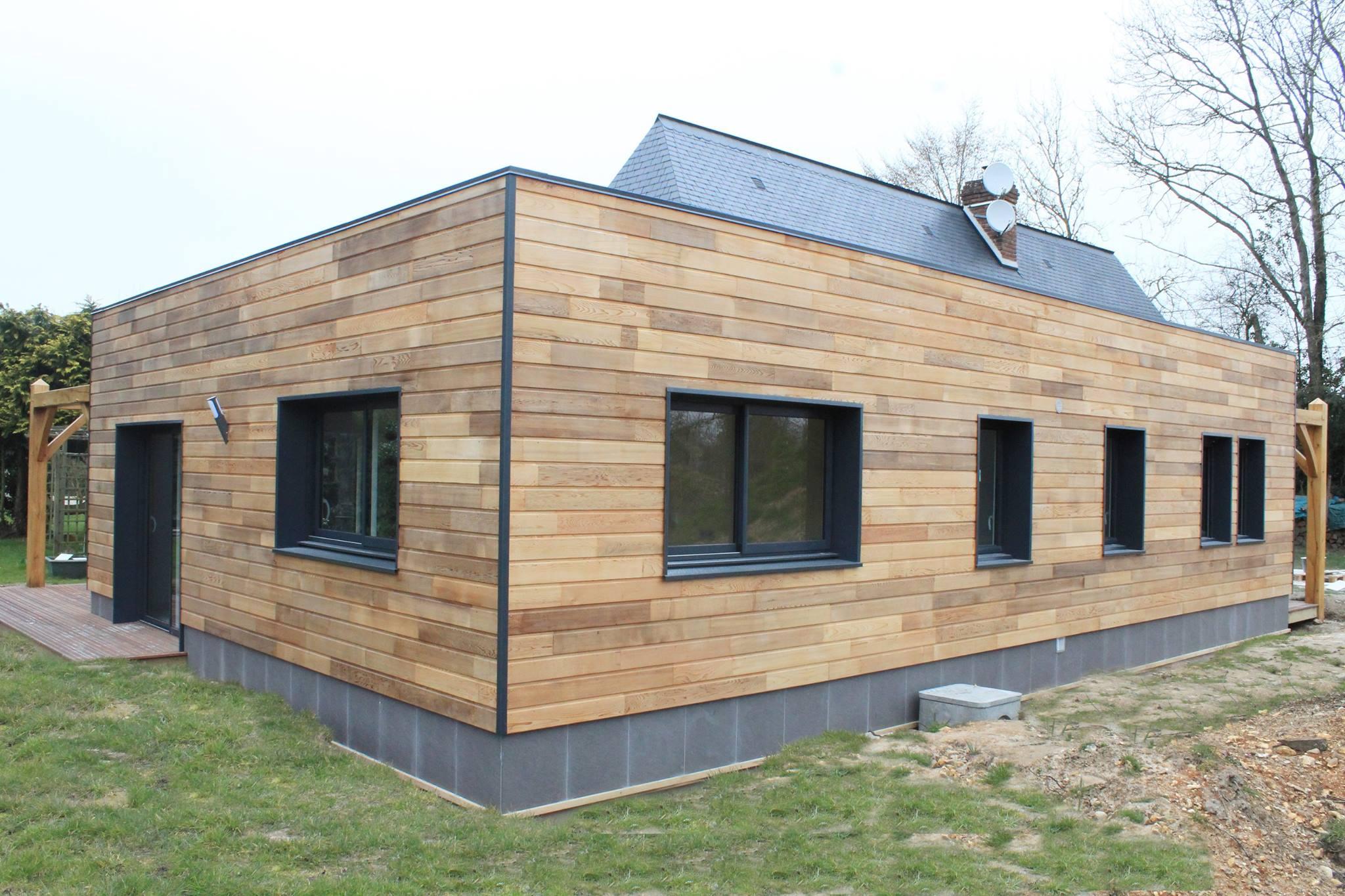 ossature bois alliance bois construction - Epaisseur Mur Maison Ossature Bois