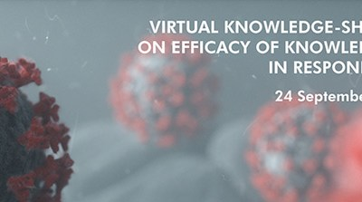 Virtual knowledge-sharing workshop on efficacy of knowledge management in responding to COVID-19