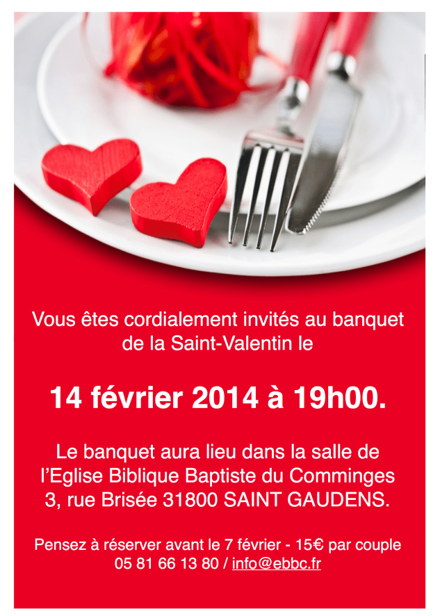 Invitation - StValentin