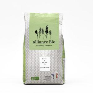 Vente en ligne de farine de sarrasin bio sur meule de pierre