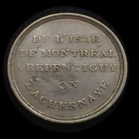 Montreal Charrette Bridge Token Breton 539 C