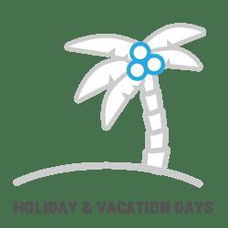 Holiday & Vacation Days