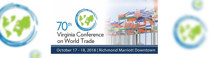 AFI became a Platinum Sponsor of the 70th Virginia Conference on World Trade