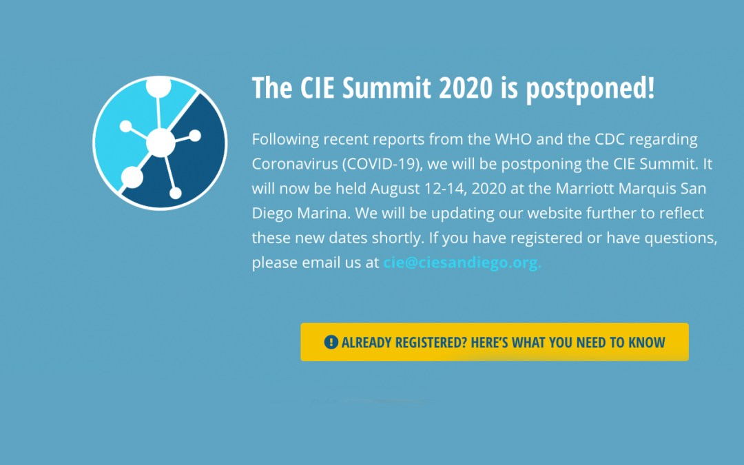 2-1-1 San Diego's CIE 3rd Annual Summit – Postponed to August 12-14, 2020