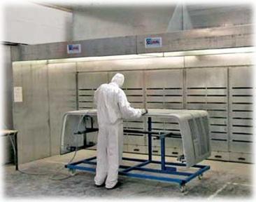 Sanding Powder Coating Booths Alliance Machinery