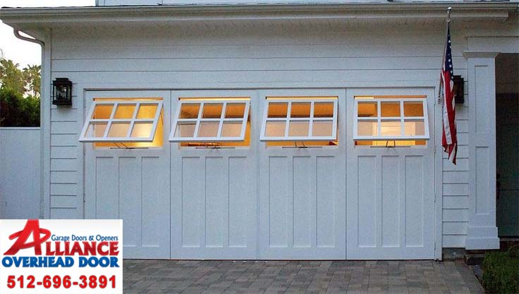 Custom Garage Door Windows Austin Replacement Repairs Installations