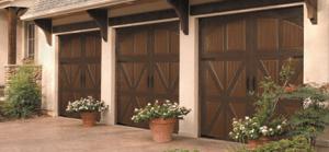 Carriage House Styled Overhead Garage Door Austin