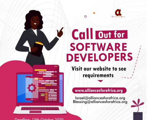 Call out for software developers