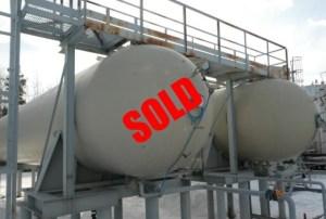 30,000 gallon propane tank in Canada sold