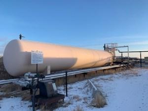 Used 30,000 gallon propane tank