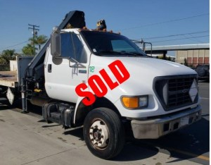 Used crane truck for sale