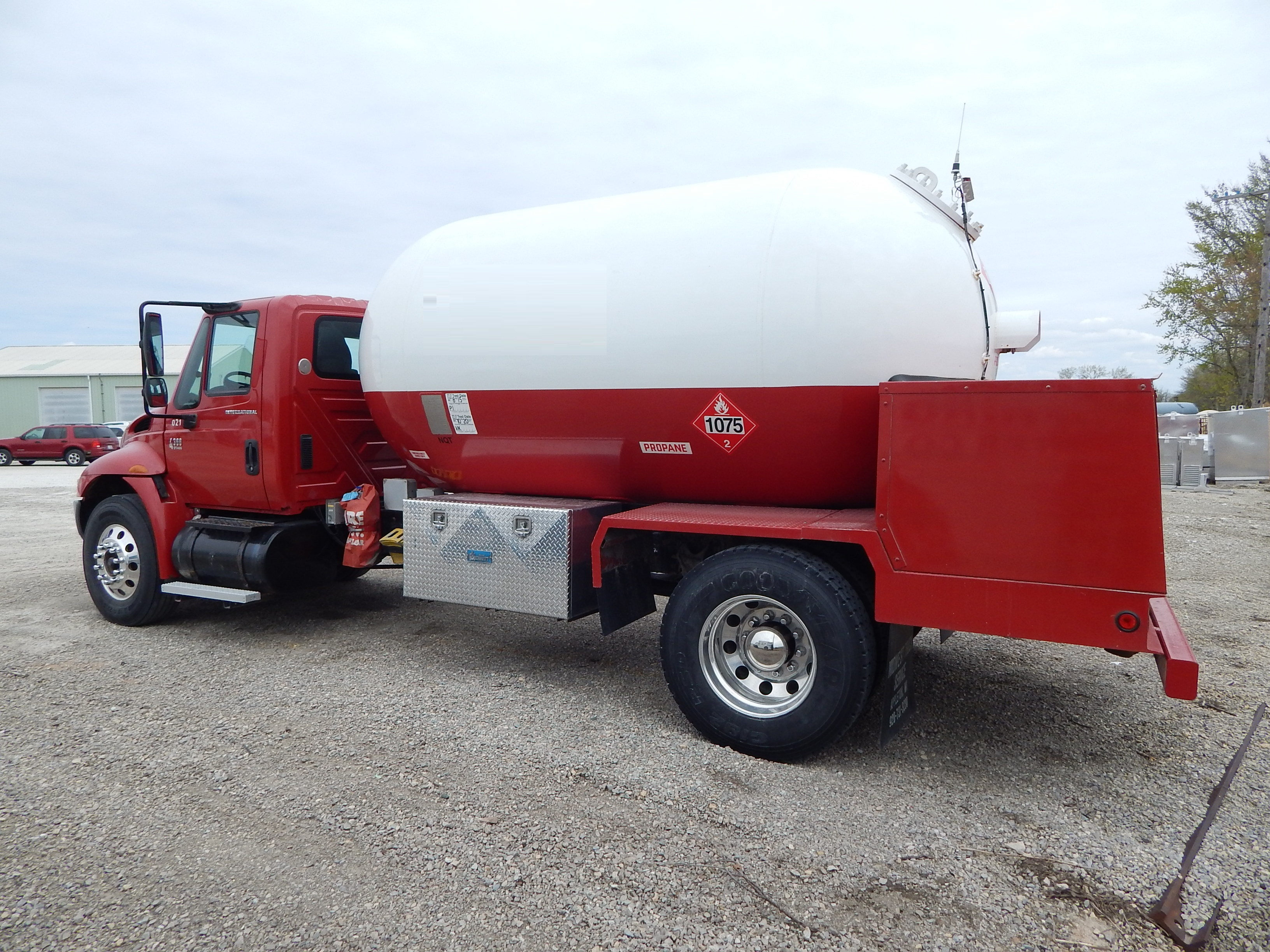 Used propane delivery truck for sale