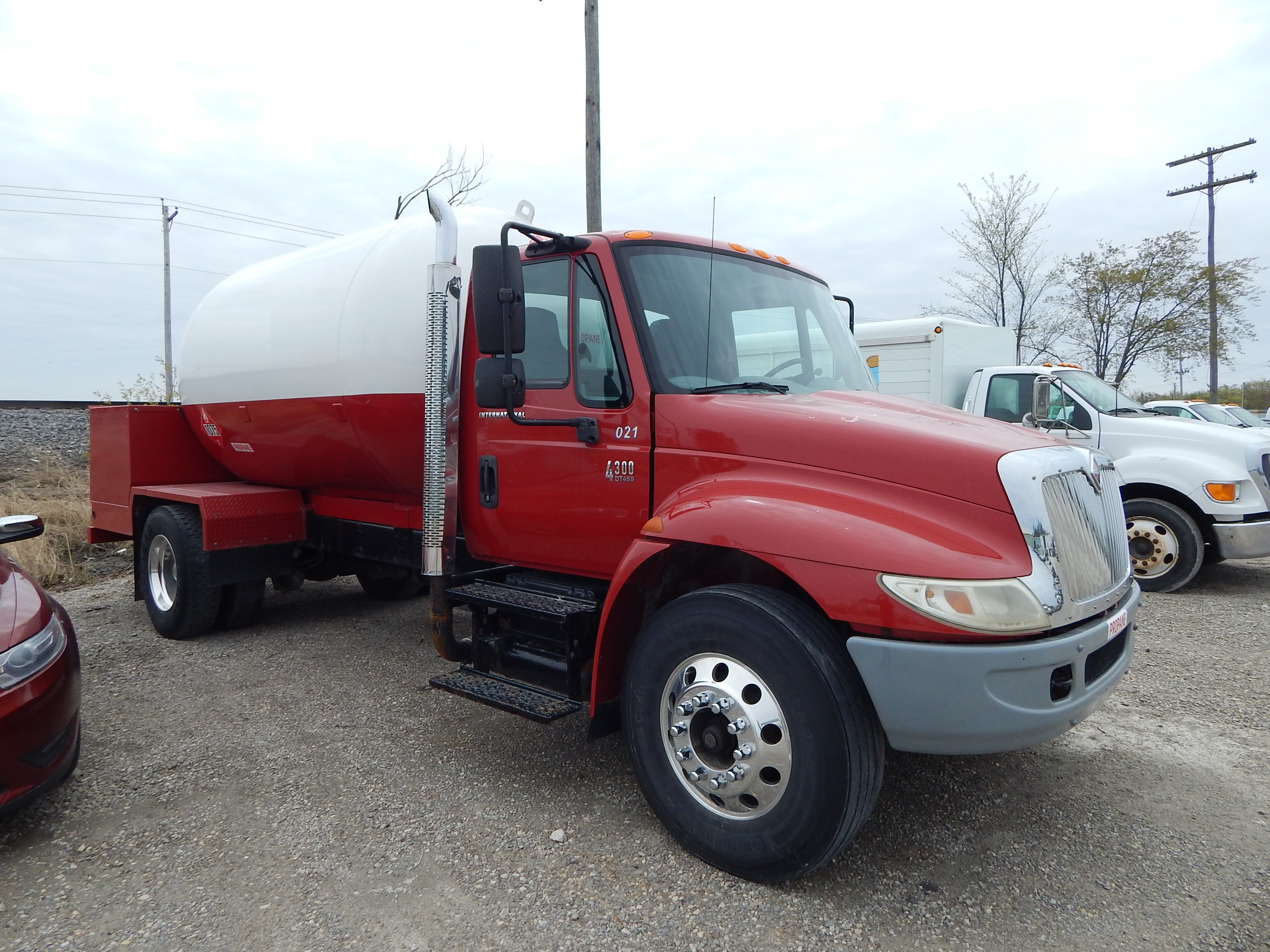 Used LP delivery truck for sale