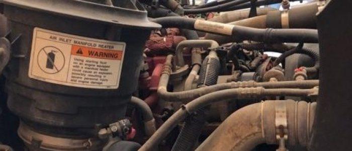 Used Freightliner LP bobtail 3000 gallon tank