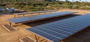 ombriere photovoltaique maroc pergola solaire