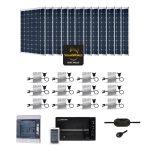 kit solaire injection reseau autoconsommation maroc