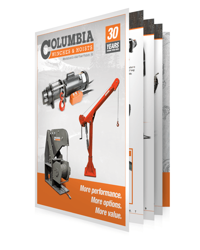 Columbia Winches Hoists Product Catalog?w=780 winch and hoist solution spotlight 120 Volt Hoist Motor Wiring at readyjetset.co