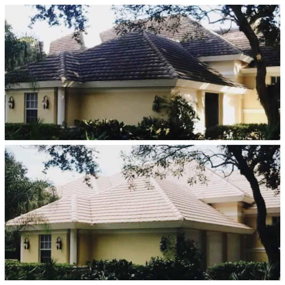 bonita springs roof cleaning estero