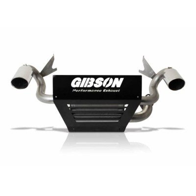 Gibson Exhaust Polaris UTV Stainless Dual 98025