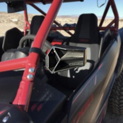 Allied Side UTV Mirrors by Allied Powersports Mounted Yamaha YXZ 01