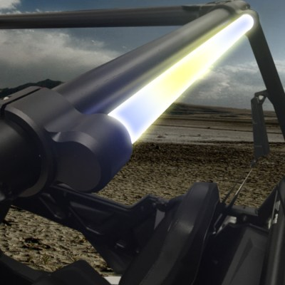 Allied Powersports Brite-Saber LED Chaser Light Model ONE Mounted 01