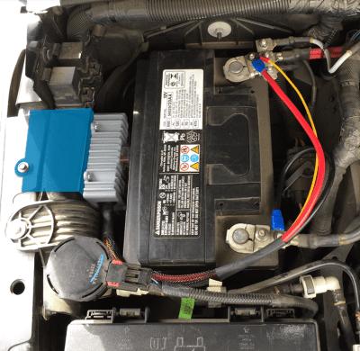 Allied Powersports | TRIGGER ACS Jeep JK Underhood Controller Bracket-Battery - Mounted
