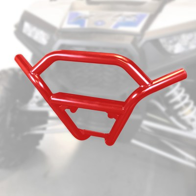 1003-RE Polaris RZR Front Bumper by Allied Powersports-Ghost