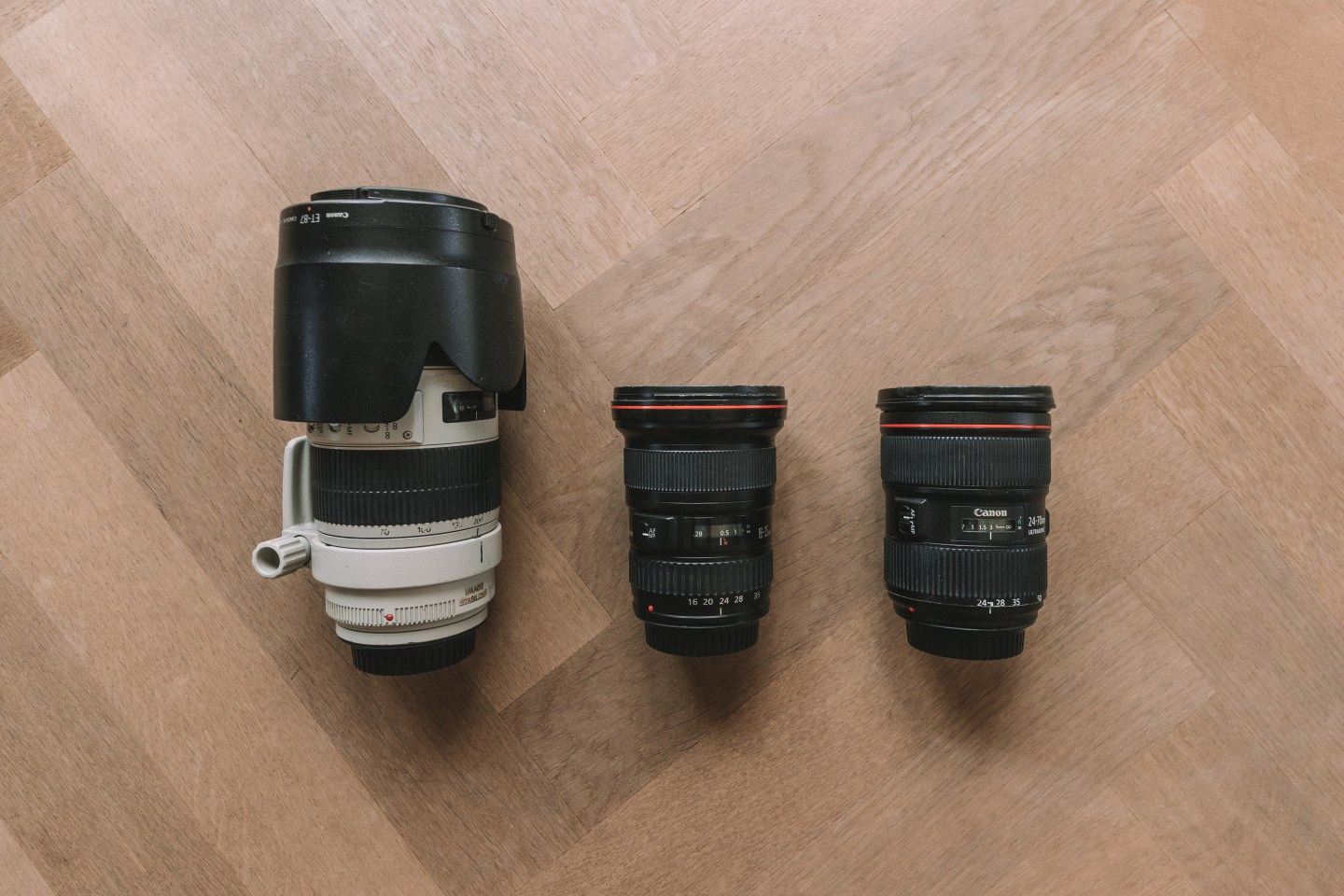 Canon Camera Lenses - Allie M. Taylor Photography Gear