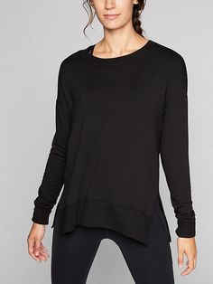 Athleta Womens Coaster Luxe Sweatshirt