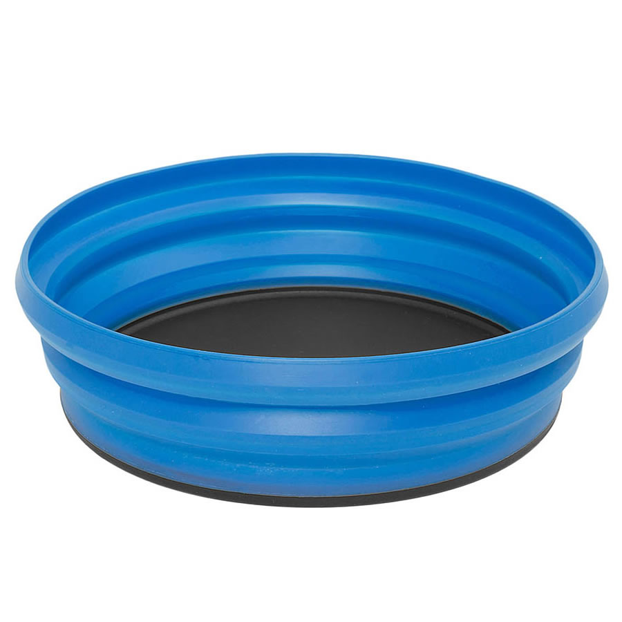 Blue Collapsible Bowl