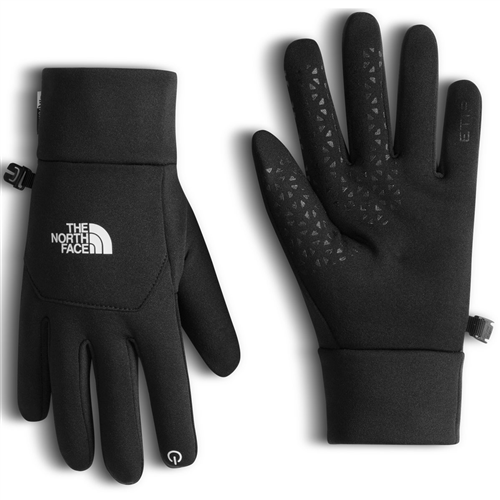North Face Black Fleece Gloves