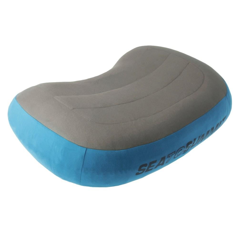 Blue Travel Pillow