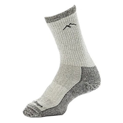Women's Hiking Boot Sock Merino Wool Light and Dark Grey