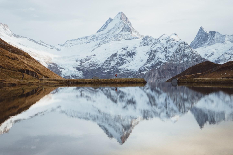 The Ultimate 2 Week Fall European Roadtrip Itinerary - Lake Bachalpsee