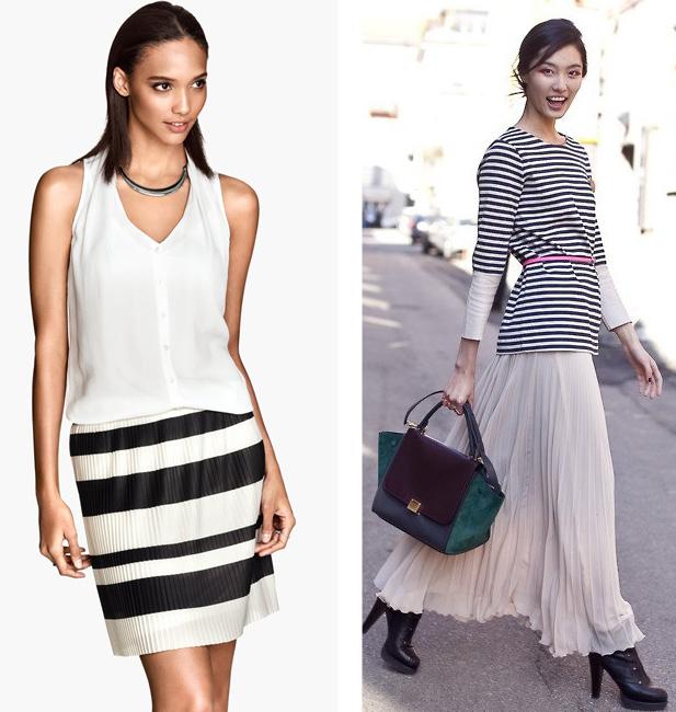 Pleated-Skirt-H&M