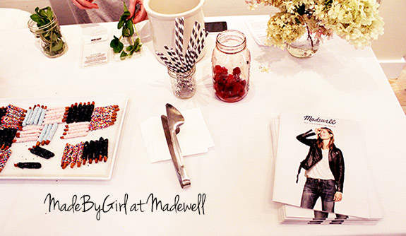 Made By Girl And Madewell an Event in NYC  Fall 2014