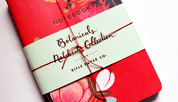 Rifle Paper Company—The Botanicals Collection, a Lovely Way to Collect Your Thoughts