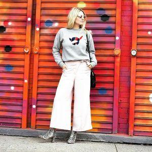 Helene of FashionOverReason looking oh so chic in Brooklyn fashionbloggerhellip