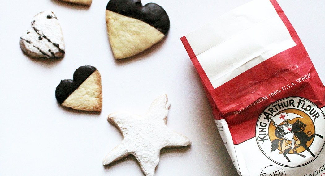 Throwback Thursday (a day early) and some Christmas Cookies with King Arthur Flour