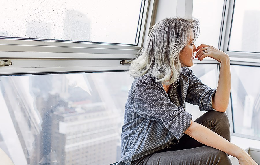 Silver Hair With Nataliya of Style Tomes and Quite The Unexpected Fashion Trend