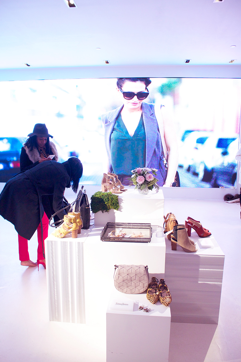 This Fashion Week was cold and snowy and made getting around a bit challenging but the frustrations were off set a bit by attending Shop Style's Social House event.
