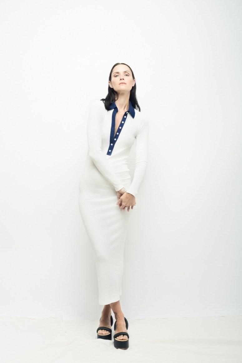 Y1032 Knit Polo Dress -7398 (linesheet)