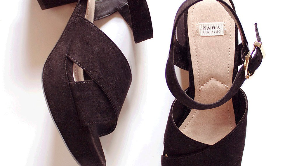Zara Block Heeled Sandals So Retro Chic and Gorgeous!