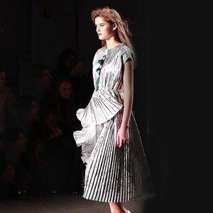 KattyXiomara NYFW a silver stunner! nycstyle nyfw stylediaries fashionblogger