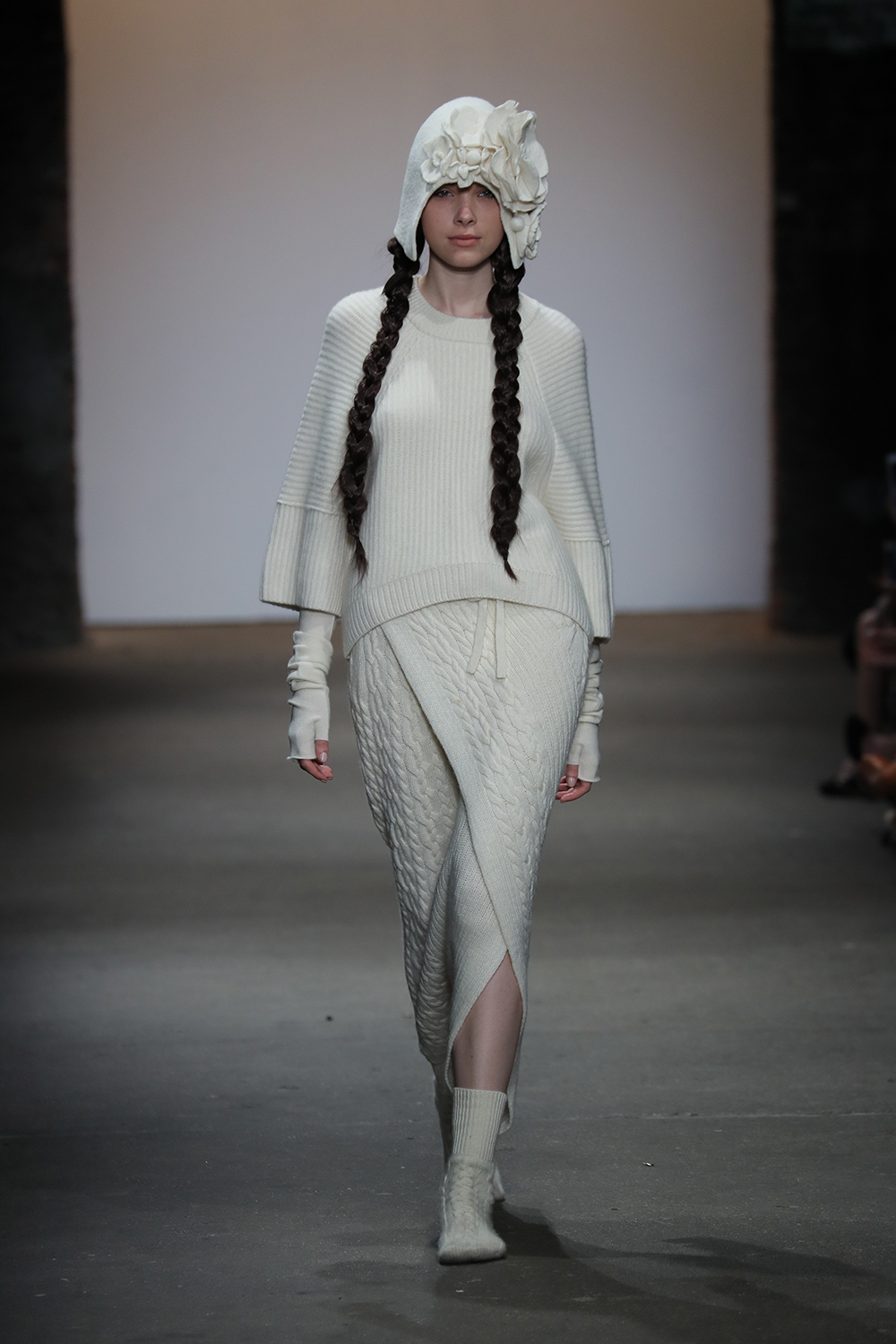 The last show to walk in the China Moment collective was Cashmere Song