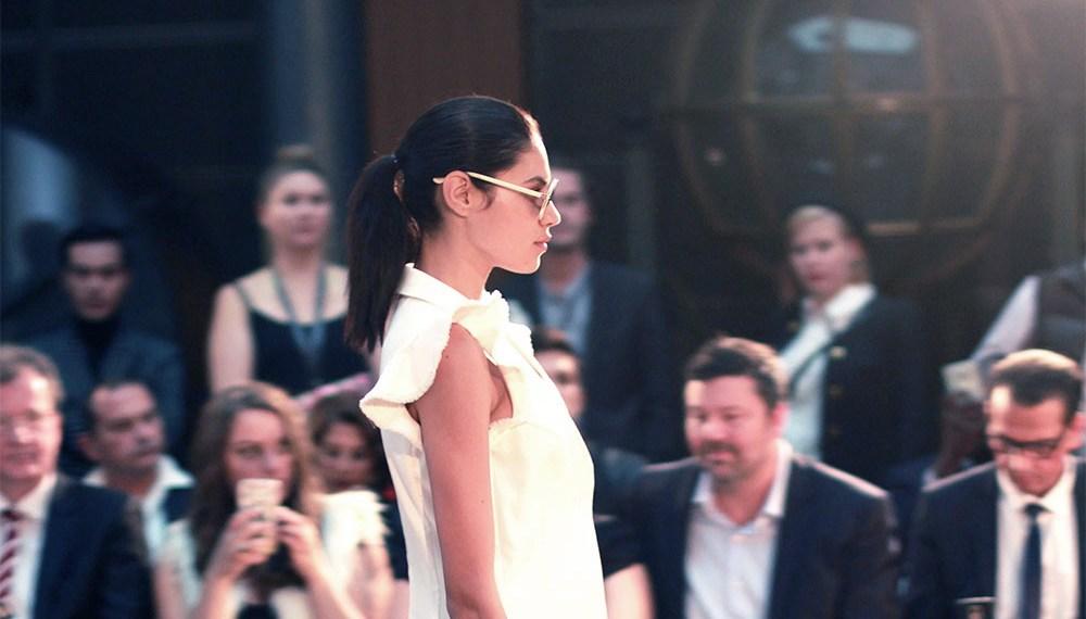 Chica Lualdi For Oxford Fashion Shows at Paris Fashion Week