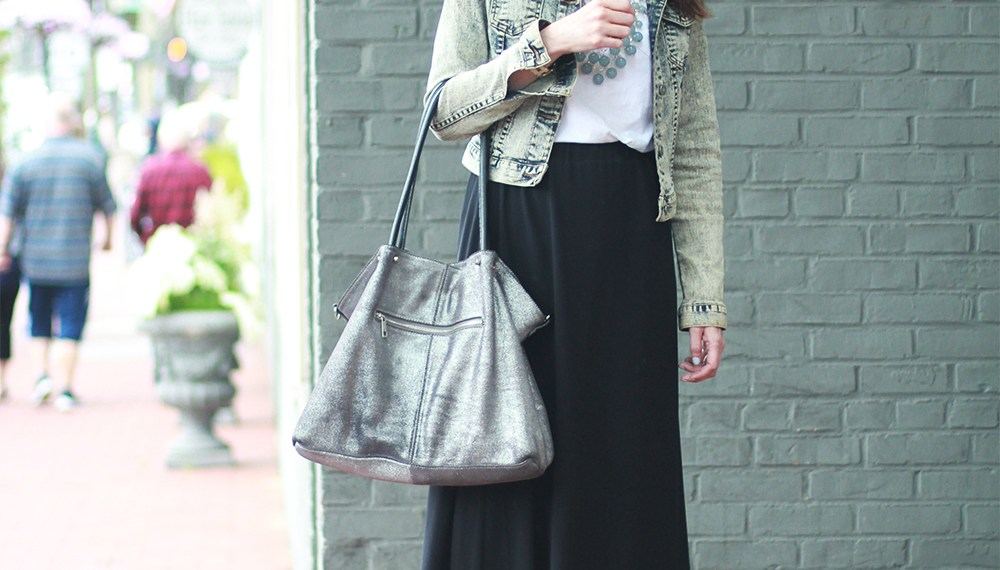 And Other Stories Sheer Midi Skirt and a mix of old and new
