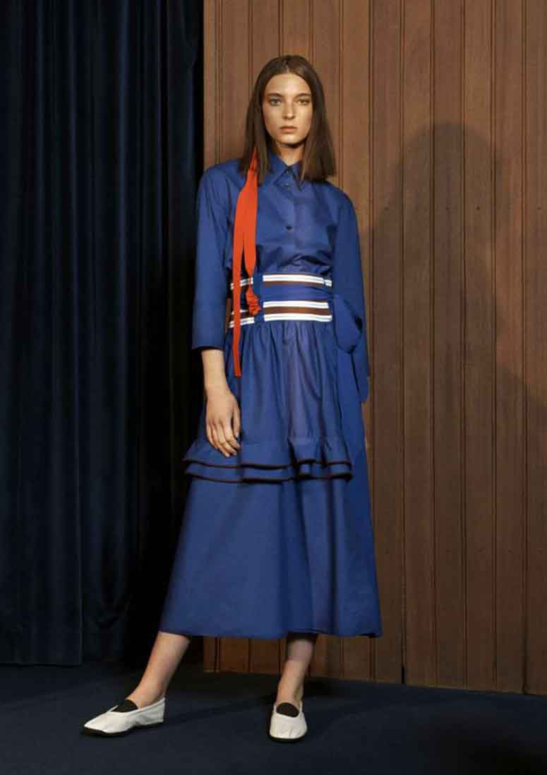 Today we are looking at Marni's resort collection for 2018. Though I would describe this collation more as an early spring