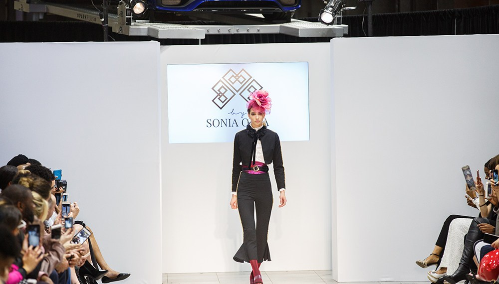 Sonia Olla at the nolcha shows for nyfw 2018